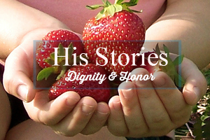 His Stories with text