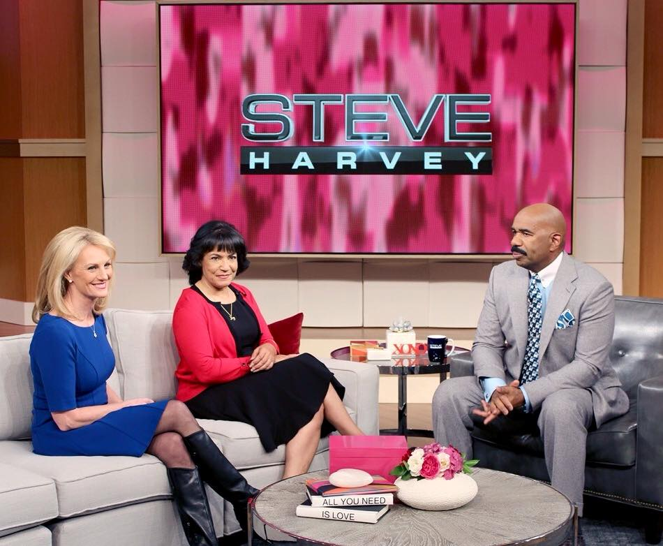 "Linda Znachko from He Knows Your Name Ministry on Steve Harvey Show ""Thank You"" Segment"