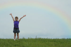 open arms rainbow