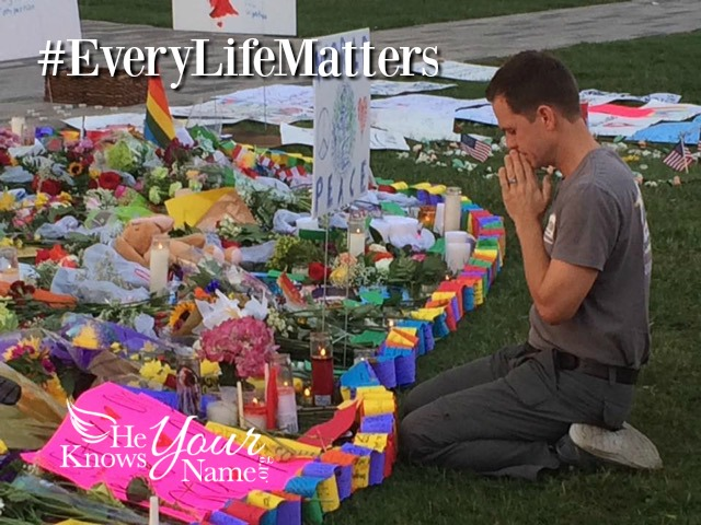He Knows Your Name: #everylifematters